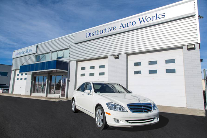 Distinctive auto works calgary alberta distinctive auto for Authorized mercedes benz mechanic